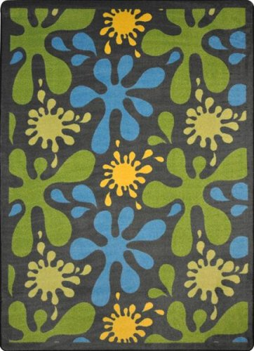 "Price comparison product image Whimsy Splat Kids Rug Rug Size: 10'9"" x 13'2"""