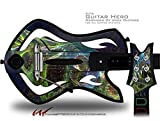 Turbulence Decal Style Skin - fits Warriors Of Rock Guitar Hero Guitar (GUITAR NOT INCLUDED)