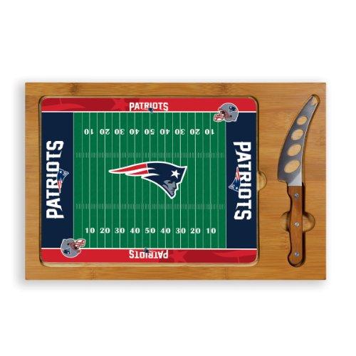 NFL New England Patriots 3-Piece Icon Cheese Set