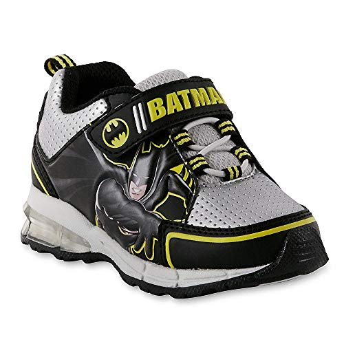 DC Comics Toddler Boys' Batman Sneaker, Light-Up (11 M US Toddler, Light-Up)