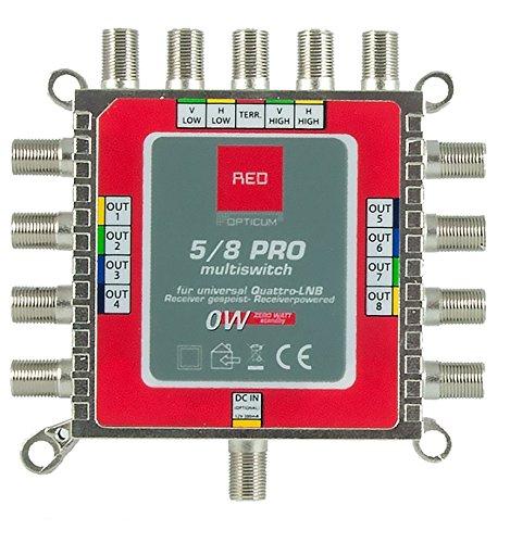 opticum 8 ingressi  Opticum EMS - Commutatore 5/8 Pro (con fino a 8 partecipanti e 1 ...