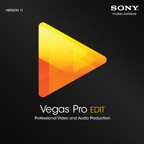 Sony Vegas Pro 12 Edit [Download]