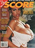 Score Busty Adult Magazine July 1995 Angelique, Tiffany Towers & Lilli Xene