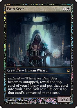 Magic: the Gathering - Pain Seer (80/165) - Unique & Misc. Promos - Foil (Foil Pain Seer compare prices)