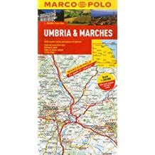 Umbria And The Marches Marco Polo Map