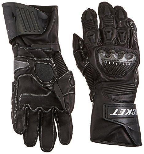 Joe Rocket Men's GPX Motorcycle Gloves (Black/Black, Large)