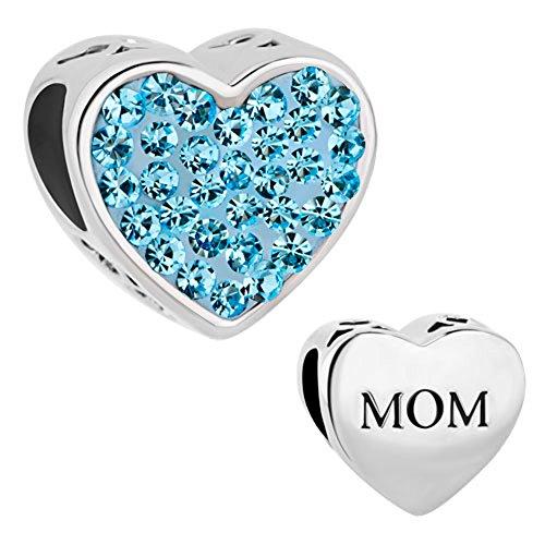 CharmSStory Mother Charm Crystal Bracelets