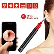 #LightningDeal Ear Camera,Bebird 1080P FHD WiFi Ear Scope,Wireless iPhone Ear Scope Camera with 3-Axis Gyroscope, USB Ear Endoscope Temperature Control, Compatible with Android iOS Smartphone and Tablet