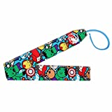 Emoji Super Heroes Themed Fabric Wrist Wraps (1 Pair / 2 Wraps) for Weightlifting | CrossFit | Powerlifting