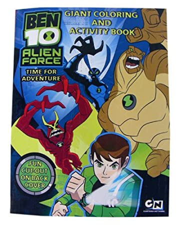 Amazon.com: Ben 10 Coloring & Activity Book - Ben10 \'Alien Force ...