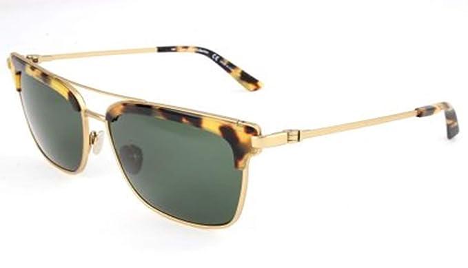 Amazon.com: anteojos de sol CK 8049 S 718 color dorado ...