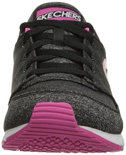 Skechers Originales Retros Og 92 Walk It Out de la zapatilla de deporte de la manera Negro