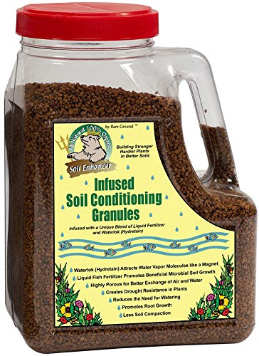 Just Scentsational TP-5C Trident's Pride Liquid Fish Infused Soil Conditioning Granules in Shaker Jug, 5 lbs (Conditioning Emulsion)