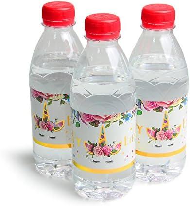 WERNNSAI Etiqueta de Botella de Mágico Unicornio Decoraciones de ...