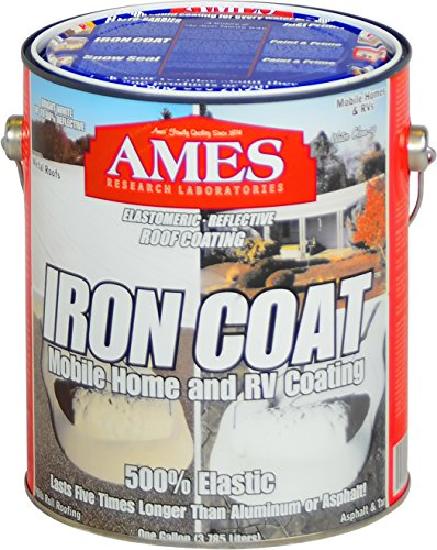 Ames Iron Coat Roof Coating, White
