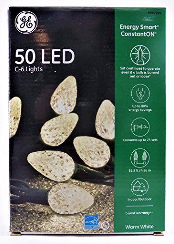 C6 Led Christmas Lights Warm White in US - 9