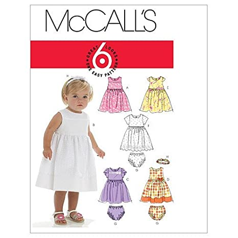 McCall s Patterns M6015 - Cartamodello per cucire abiti 324eeaac5433