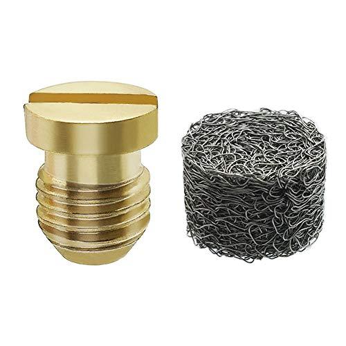 Twinkle Star Foam Cannon Orifice Nozzle Tips and Foam Maker, Universal Foam Cannon Nozzle and Mesh Filter 1.1mm, 3000 PSI