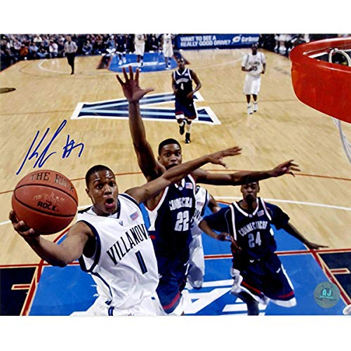 Kyle Lowry Villanova Wildcats Autographed NCAA Basketball 8x10 Photo AJSW Hologram - Steiner Sports Certified