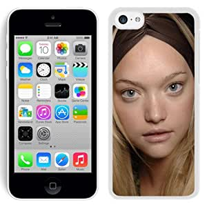 Unique Designed Cover Case For iPhone 5C With Gemma Ward Girl Mobile Wallpaper(9) Phone Case