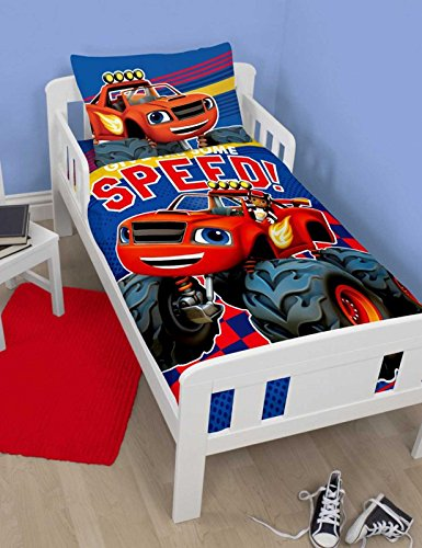 Blaze Zoom Junior Cot Bed Duvet Cover - Bed Junior Set