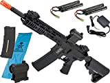 Evike Specna Arms/Rock River Arms CORE Series M4 Airsoft AEG Rifle (Model: M4 Carbine Keymod/Black SA-C09 + Go Airsoft Starter Package)