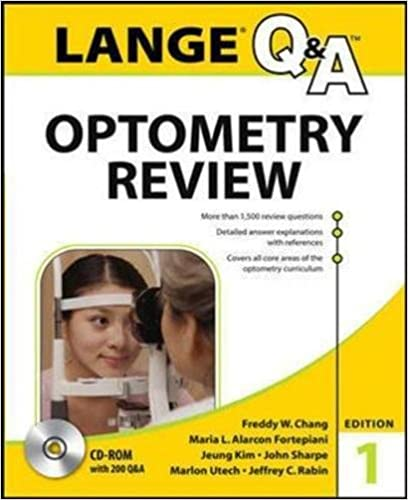Book Lange Q&A Optometry Review: Basic and Clinical Sciences