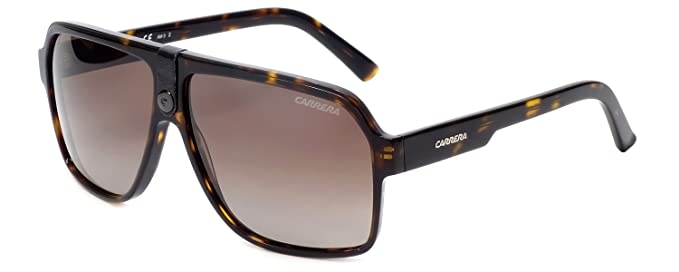 2ec1aa2c623 Image Unavailable. Image not available for. Color  Sunglasses Carrera 33 S  0086 Dark Havana   LA brown gradient ...