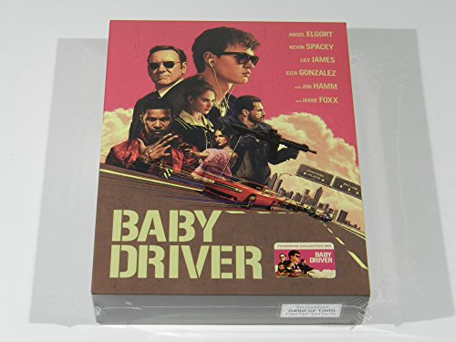 Baby Driver Steelbook 4K Baby Driver Fullslip Xl   Lenticular Magnet 4K Ultra Hd Steelbook  Limited Collectors Edition   Numbered   Cd Soundtrack Region Free Sold Out