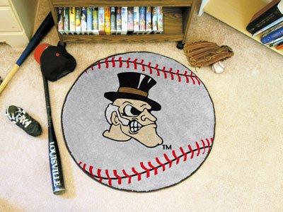 - Baseball Floor Mat - Wake Forest University