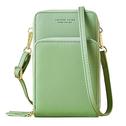 Small Crossbody Bag Cellphone Handbag Purse Wallet with Credit Card Slots for Women Roomy Shoulder Bag