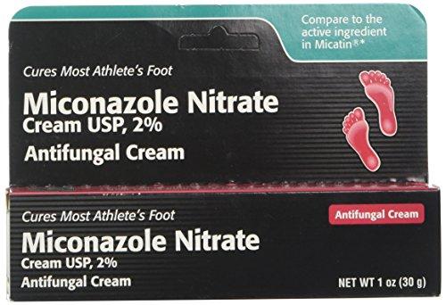 Miconazole Nitrate 2% Antifungal Cream 1 oz ()