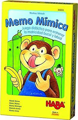 HABA- Juego de Mesa, Memo Mímica, Multicolor (Habermass H304243 ...