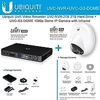 Ubiquiti UniFi Video Camera UVC-NVR + IP Camera UVC-G3-DOME Wide-Angle