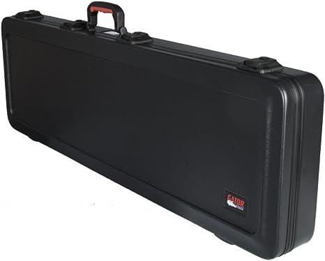 GATOR GPE-BASS-TSA - Estuche para bajo eléctrico (interior moldeado), color negro: Amazon.es: Instrumentos musicales