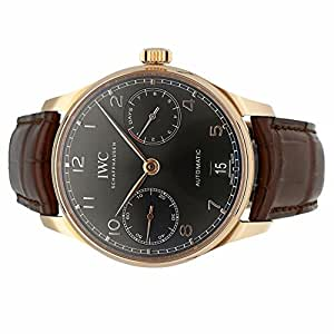 IWC Portuguese automatic-self-wind mens Watch IW500702 (Certified Pre-owned)