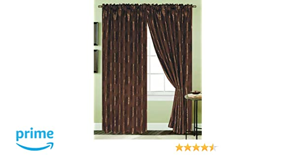 Amazon.com  RT Designers Collection Harlow Window Curtain Panel 3532530588d31