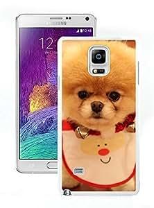 Personalized Christmas Dog White Samsung Galaxy Note 4 Case 23 Kimberly Kurzendoerfer