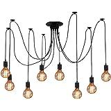 ZHMA Ceiling Spider Lamp Light Pendant Lighting, Antique Classic Adjustable DIY Lighting Chandelier Modern Chic Industrial Di