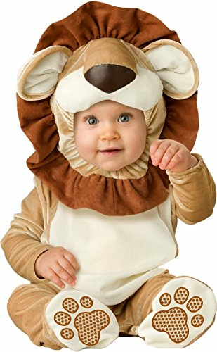 InCharacter Costumes Baby's Lovable Lion Costume, Brown/Tan/Cream, Medium for $<!--$18.49-->