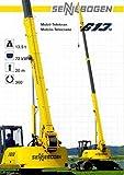 1993 Sennebogen Mobile Crane Truck Excavator Brochure