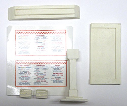 1:25 G scale model diner carhop menu board with speaker for sale  Delivered anywhere in USA
