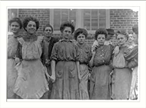 Historic Print (L): Some of the adults Payne Cotton Mill, Macon, Ga. Location: Macon, Georgia.
