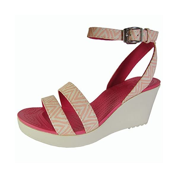 5cedd85513e7 Crocs Women s Leigh Graphic Wedge