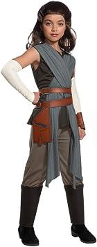 Horror-Shop Star Wars Rey Disfraces para niños Deluxe M: Amazon ...