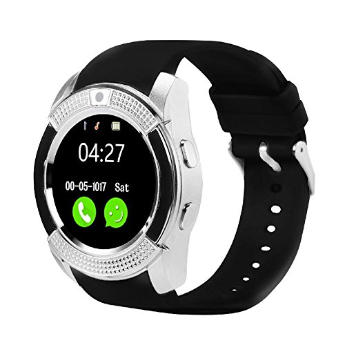 e469bca5f Amazon.com  Sanoxy Smart-Phone-Watch with Camera