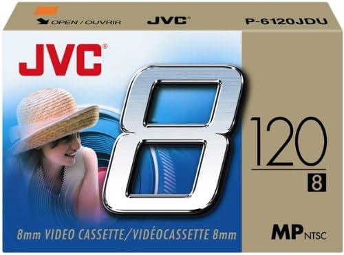 Jvc P6120Jdu 8Mm Video Tape Discontinued by Manufacturer Single