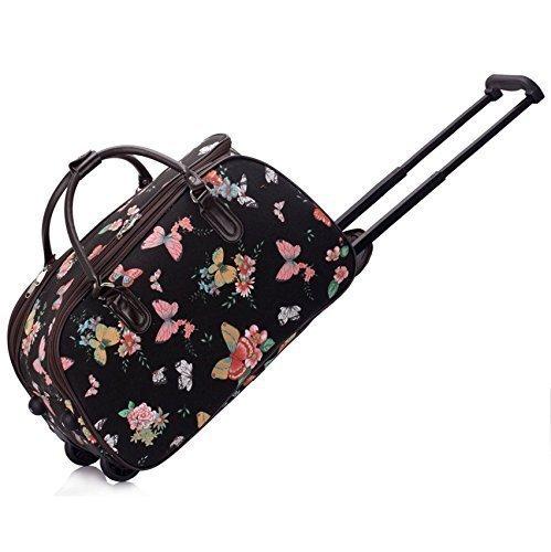 TrendStar Señoras bolsas de bolsa de viaje equipaje de mano para mujer mariposa Fin de Semana