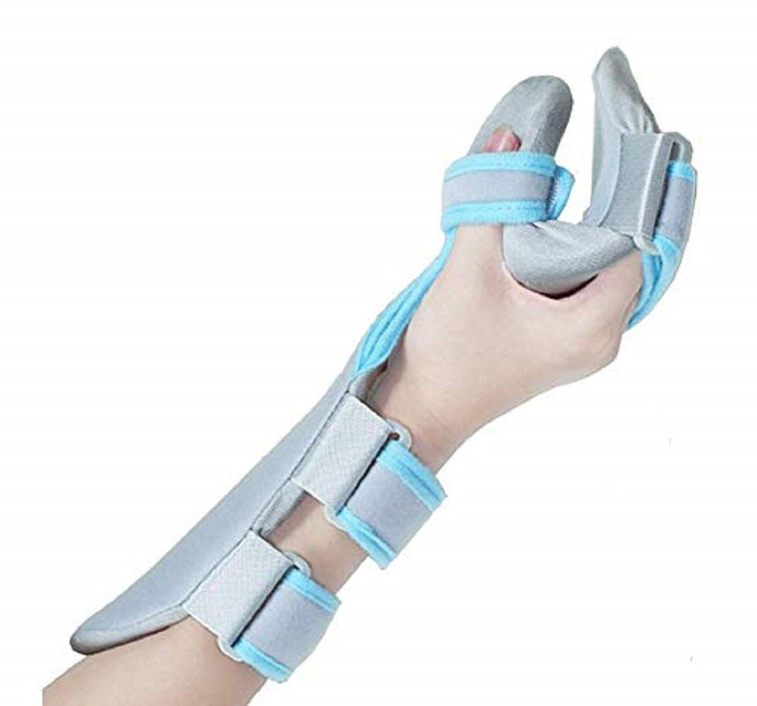 Stroke Hand Brace Support Hand Splint Soft Professional Functional Resting -1 Unit (Right)