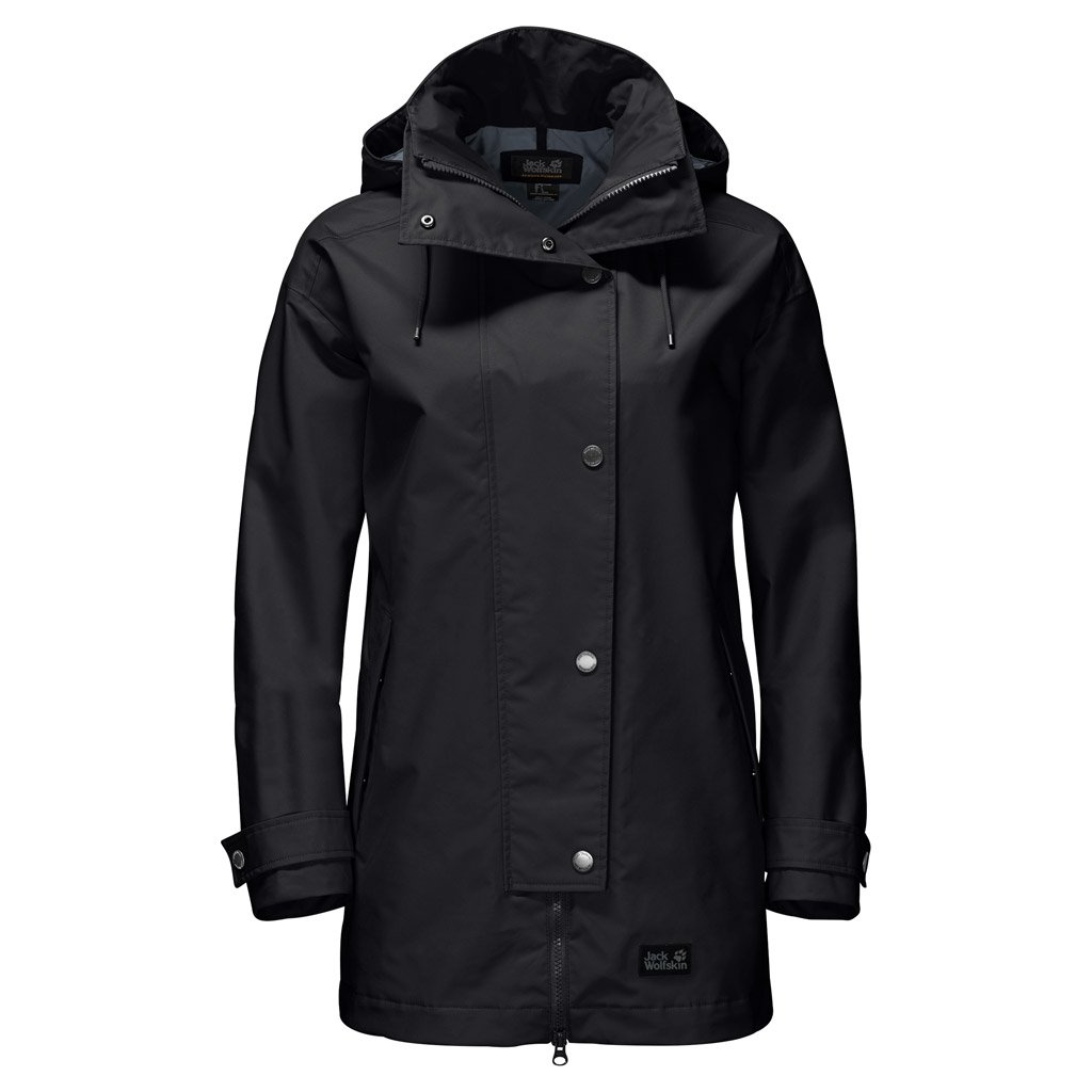 Jack Wolfskin Women's Toronto Jackets, Black, Medium by Jack Wolfskin (Image #1)